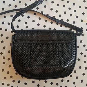 Banana Republic Bags - Banana Republic Mini Saddle Bag Crossbody Black